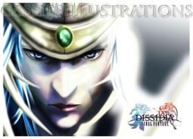 Warrior of Light- Dissidia by cassiesillustrations