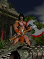FANTASY HEROS: THE BARBARIAN by lordcoyote