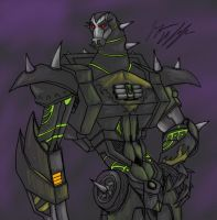 Transformers Prime: Lockdown by peanutchan