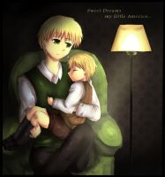 Sweet Dreams APH USUK by Aleriy