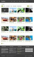 Creativio WordPress Theme PSD Files for Free by bestpsdfreebies