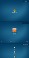 BlueVista Wall Logon Preview by mjamil85