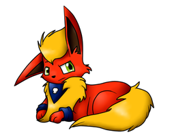 Com: Rano the Flareon by aWWEsomeSoph