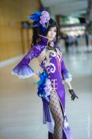 Cosplay: Dynasty Warrior 8 - Shinki by yurkary