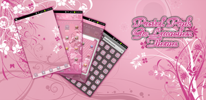 Pastel Pink Android Go Launcher EX Theme by Jekmyster