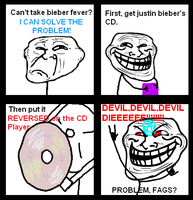 How to make Justin Bieber COOL by xAm0n12x