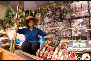Floating Market Stall by luccide