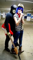 Gorillaz: You're My Music by SugarBunnyCosplay