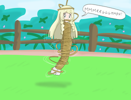 Lillie mummified in rope !!! by Gregory-OTM