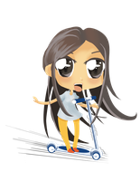 Chibi of my sis by cybersuzy