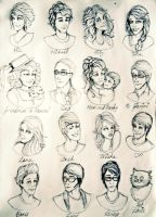 The Princess Diaries: Character sketches by seanfarislover