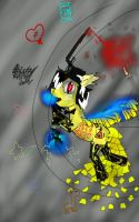 Bill cipher pony by ChensArts-3008