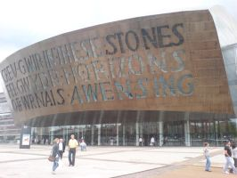 Wales Millenium Centre 3 by evilminky666