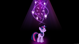 Twilight Sparkle Wallpaper by MrAlienBrony