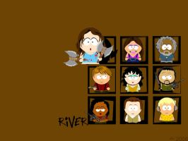 Firefly Wall-Set: River Tam by Lady-Door