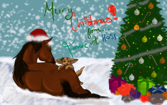 Christmas 2012 to you! by MazarineFennec