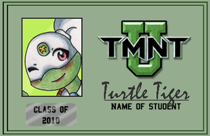 Turtle Tiger: TMNT-U ID '10 by KawaiiKittee88