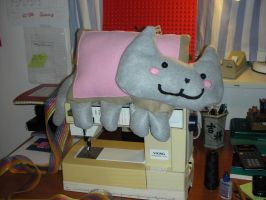 Nyan Cat Progress by GingaBishounen