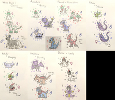 PKMNation:: Clutch Dump of 7 [Closed] by Dianamond