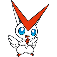 Shiny Victini Global Link Art by TrainerParshen