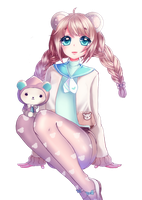 Fullbody Commission for Melonbunni by Awato