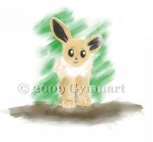 My Eevee by Gymnart