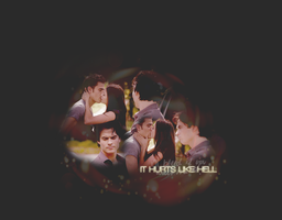 it hurts like hell by sallyGREY