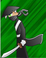 Ninja Danny Phantom by darkkittyphantom