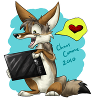 Tablet by ChaosCanine