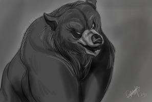 Brother Bear  Animation painted sketch by Gman20999