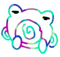 Poliwhirl on LSD by PsychoticFlare