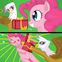 Pinkie Pie's Gift by Metalforever