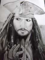 Captain Jack Sparrow by lobowiki