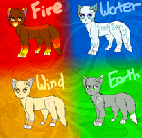 Element Cat Adopts (CLOSED) by Angel-Prower