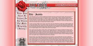 400 Roses Web Design by Garsondee