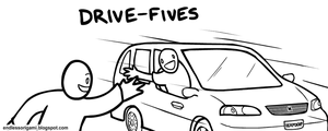 Drive Fives by endlessorigami