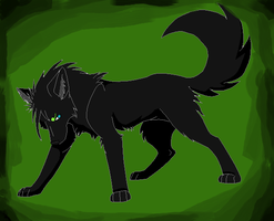 Septic wolf by LadyRosemary