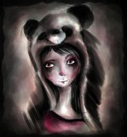 Panda eyes by dyingrose24