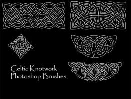 Celtic Knotwork Brush Set 1 by PhoenixWildfire