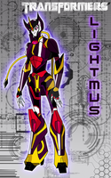 Transformers  Prime Oc: Lightmus by DarkLightmus