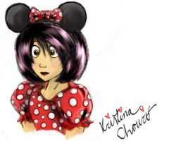 Minnie Mouse Take Over by Chourios