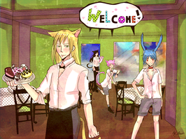 Welcome to the cafeteria :D by AtomicKitten13