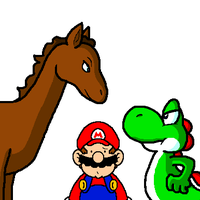 Mario: You can't have him by JamesmanTheRegenold
