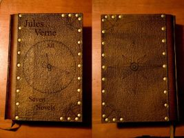 Jules Verne Book Cover by Photoguy42
