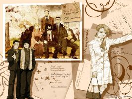FMA: Old Memories by morfachas