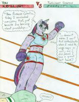 Boxing You vs Twilight Sparkle by Jose-Ramiro