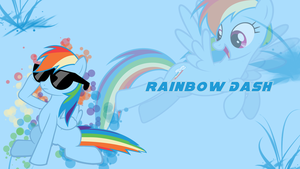 Rainbow Dash Wallpaper by Pink-Mist10