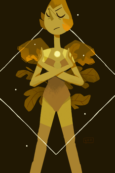 yellow pearl by vellumed