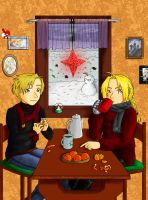 FMA Merry Christmas 2010 by MangaX3me