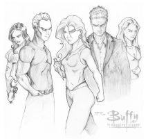 Buffy.... The Girl in Question by iamrafsusername